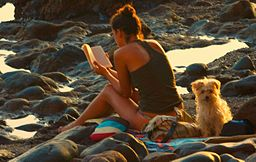 256px-Woman_reading_at_the_beach